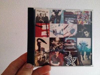 Mijn eerste CD -> U2 - Achtung Baby